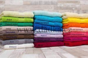 Kvalitní jednobarevné ručníky a osušky Bade, Bade Home