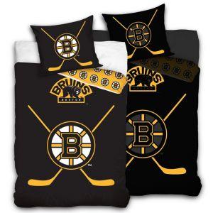 Hokejové povlečení NHL Boston Bruins náhled fosforeskující vrstva