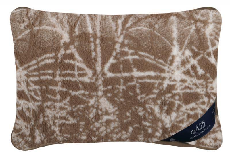 Vlněný polštář 40 x 60 cm příroda - australské merino