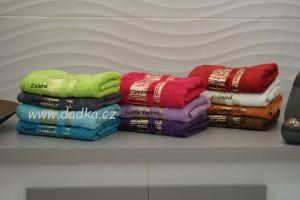 Kvalitní bambusový ručník a osuška Exclusive 420 g/m2, Bade Home