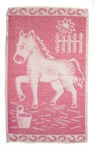 Dětský ručník Koník růžový, Frotex