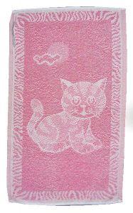 Dětský ručník Kotě růžové, Frotex