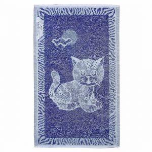 Dětský ručník Kotě tmavě modré