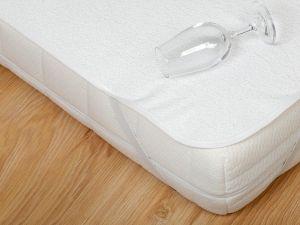 Nepropustný a neprodyšný chránič matrace (matracový chránič) s PVC, Dadka