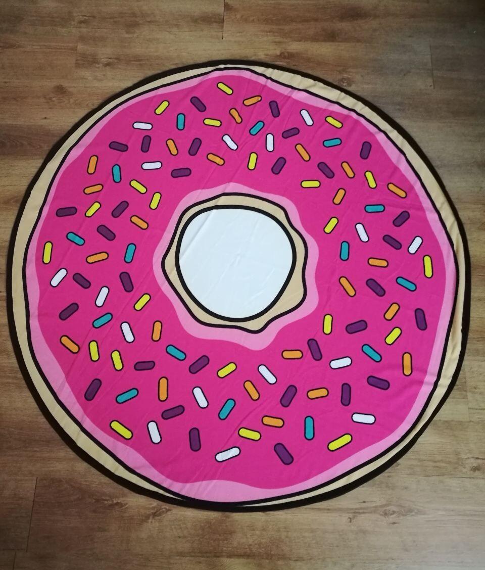 Plážová osuška kruh Donut