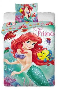 Mořská víla na dětském bavlněném ložním povlečení Disney Ariela 2014, Jerry Fabrics