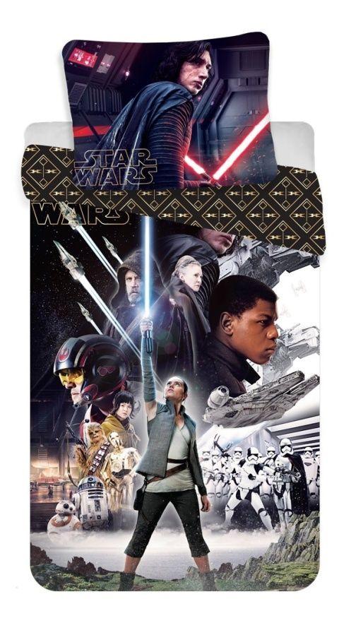 Dětské bavlněné ložní povlečení Star Wars VIII