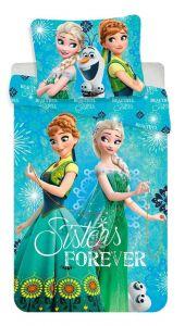 Bavlněné povlečení Frozen sister forever