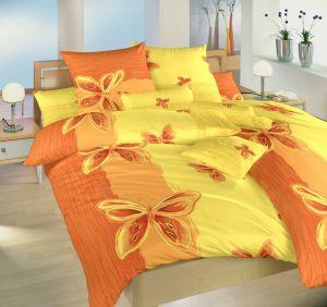 Krepové Motýl žlutý