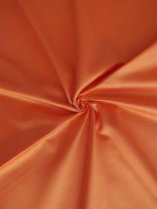 Saténové povlečení oranžová