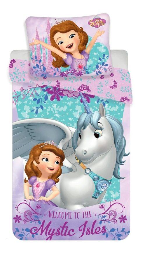 Dětské bavlněné ložní povlečení Sofia Unicorn