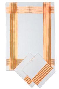 Utěrky vaflové oranžové - 3 ks