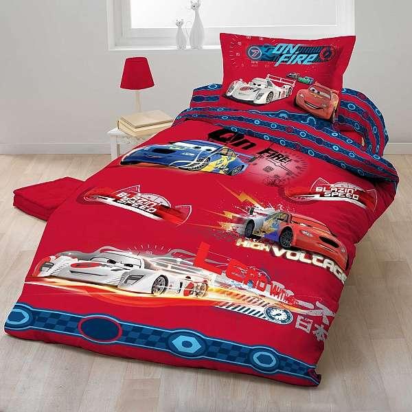 Cars 2012 červený bavlněné dětské ložní povlečení