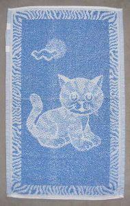Dětský ručník - Kotě modré