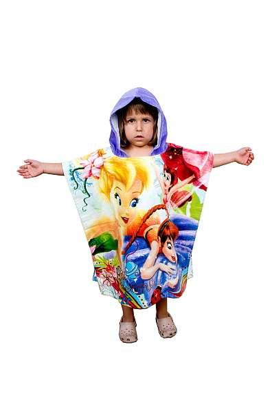Dětský župánek Pončo Fairies