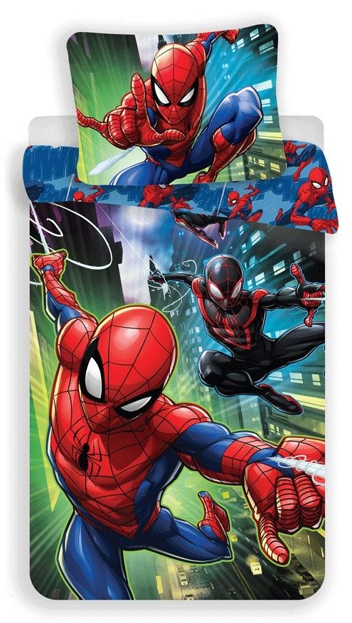 Bavlněné ložní povlečení Spiderman 05