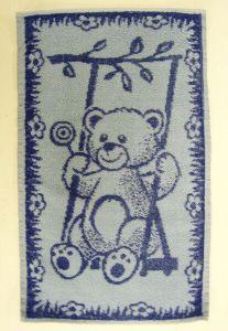 Dětský ručník Medvídek tmavě modrý