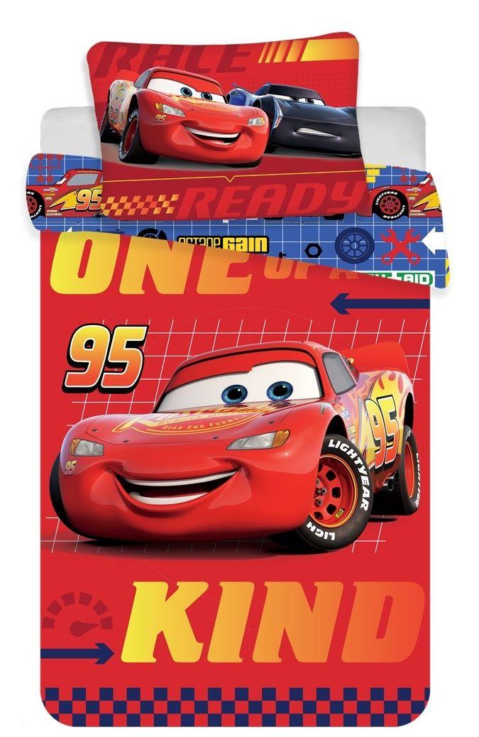 Bavlněné ložní povlečení do postýlky Cars baby Disney