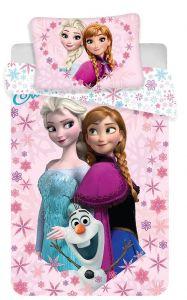 Bavlněné povlečení do postýlky Frozen baby Disney