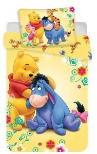 Bavlněné povlečení do postýlky Medvídek Pů baby Disney