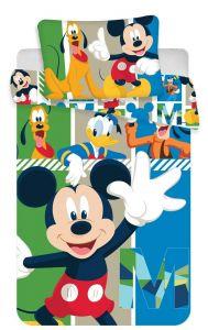 Bavlněné povlečení do postýlky Mickey baby Disney
