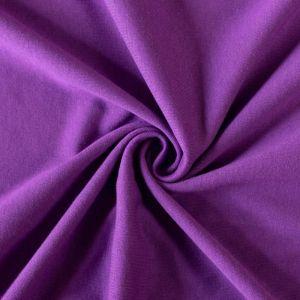 Jersey prostěradlo tmavě fialové