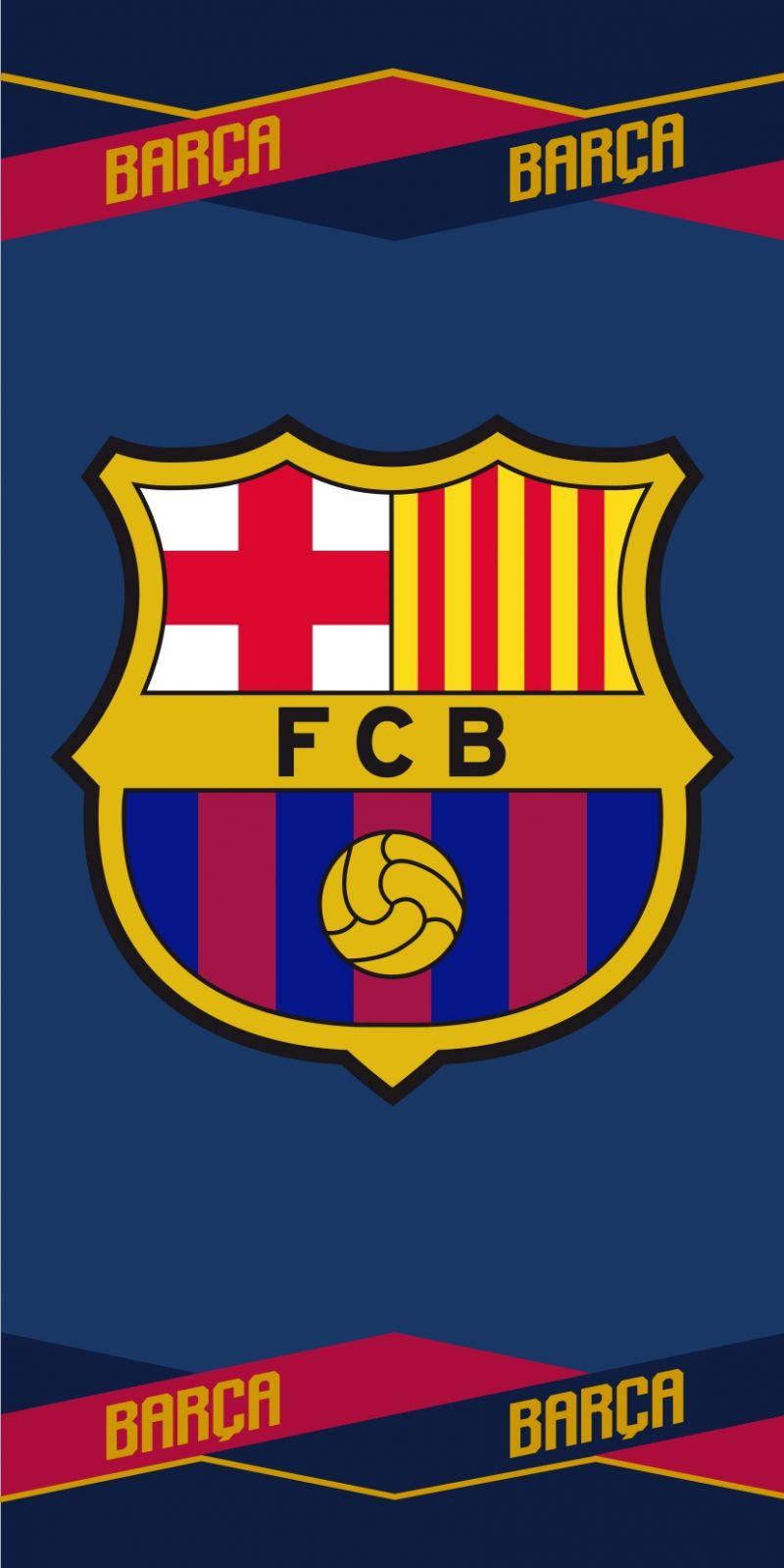 Plážová osuška FC Barcelona 04