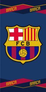 Pro nadšené fanoušky fotbalu kvalitní froté osuška FC Barcelona 04, Jerry Fabrics