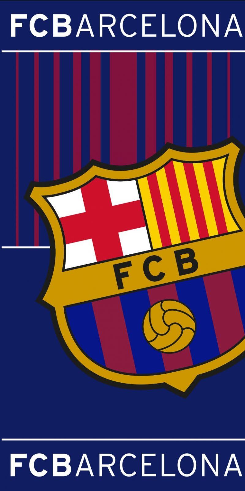 Plážová osuška FC Barcelona 05