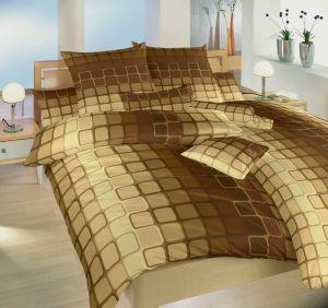 Bavlněné povlečení Čokoláda hnědá