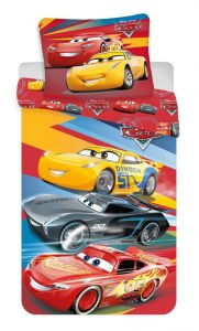 Bavlněné povlečení Cars red 02