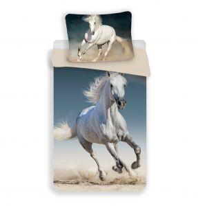 Bavlněné povlečení fototisk Kůň 03