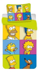 Bavlněné povlečení Simpsons square