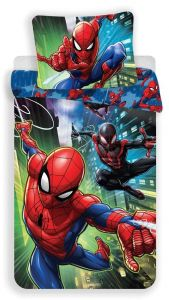 S obrázkem pavoučího muže kvalitní dětské bavlněné ložní povlečení Spiderman 05, Jerry Fabrics