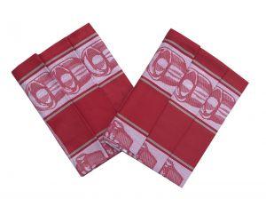 Utěrka Bavlna Extra savá Čajová souprava červená - 3 ks