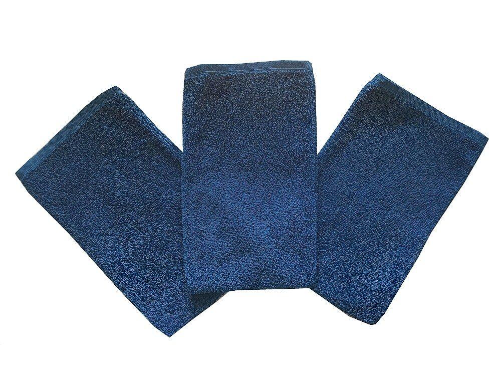 Žínka Klasik, barva modrá, jednobarevná žínka