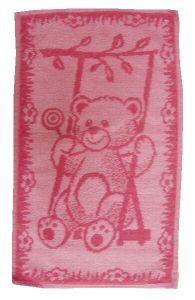 Dětský ručník Medvídek růžový