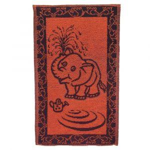 Dětský ručník Slůně oranžovomodré