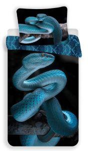 Bavlněné povlečení fototisk Had