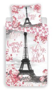 Bavlněné povlečení fototisk Paris roses