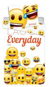 Se žlutými smajlíky kvalitní bavlněné ložní povlečení Emoji 213, Jerry Fabrics