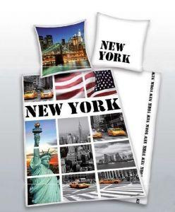 Bavlněné ložní povlečení Herding 4459.48 - New York,