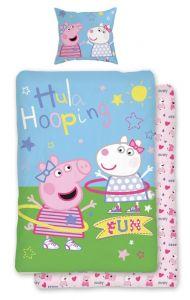 Kvalitní dětské bavlněné ložní povlečení Peppa Pig 031, Jerry Fabrics
