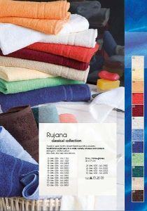 Do Vašich koupelen kvalitní jednobarevný ručník Rujána 400g/m2 Veba