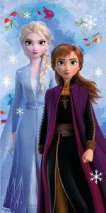 Osuška Frozen 2 snowflake