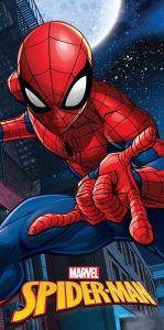 Fiktivní postava komiksových příběhů na kvalitní bavlněné plážové osušce Spiderman moon, Jerry Fabrics