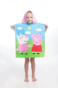 Kvalitní dětské pončo Peppa Pig 013, Jerry Fabrics