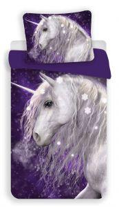 Povlečení Unicorn purple