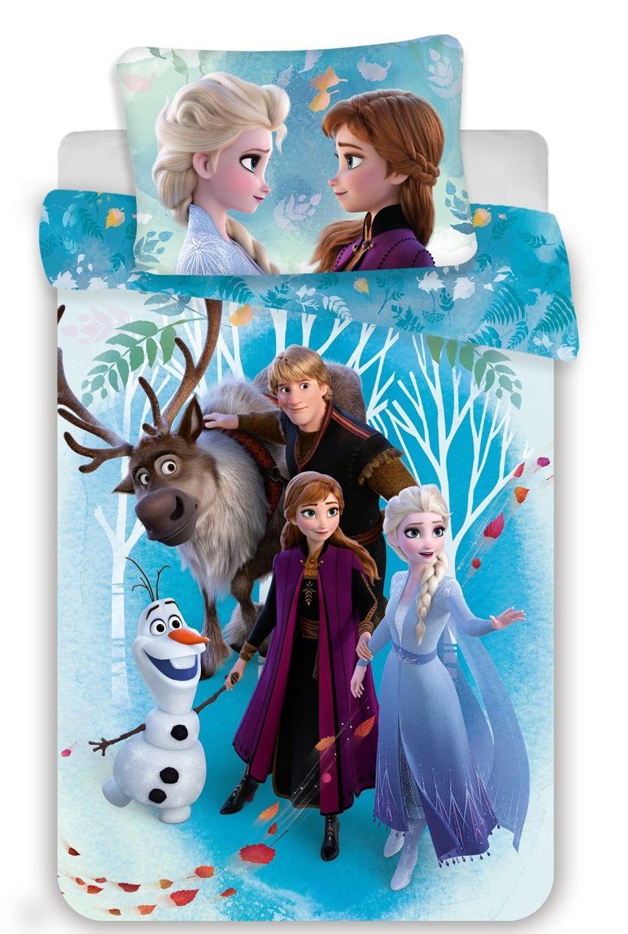 Disney povlečení do postýlky Frozen 2 baby Jerry Fabrics