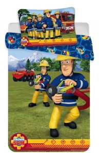 Disney povlečení do postýlky Požárník Sam blue baby
